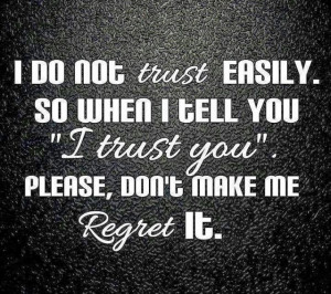 to Trust Again Quotes , Trust Issue Quotes Tumblr , Trust Issues ...