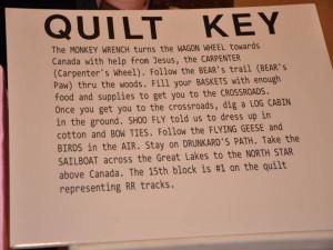 printable underground railroad quilt patterns