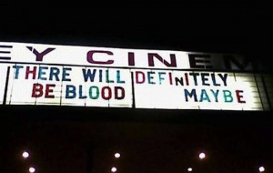 Funny Movie Theater Signs