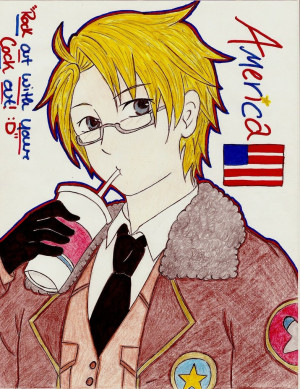 Axis Powers Hetalia : America by NekoChibitalia