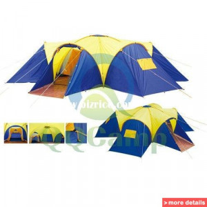 man 4 room dome family camping tent green price 199 99 vat inc