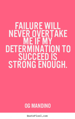 essay on determination to succeed