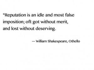 Shakespeare Othello Quotes Othello quotes