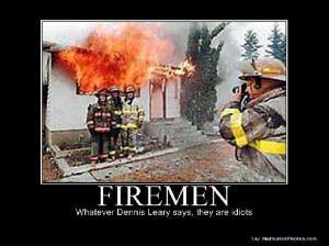 funny stupid fireman Images and Graphics
