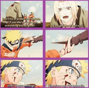 Naruto Never Give up Quotes a Never Give up Attitude