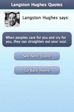 Langston Hughes Quotes Screenshots langston hughes