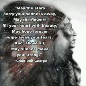 Native American Chief Dan George | Chief Dan George quote ... | Native ...