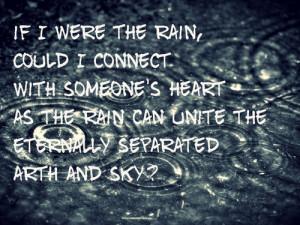 Bleach Rain Quote
