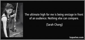 The Ultimate High For Being...