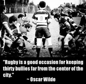 rugby quotes i like to think i play rugby as