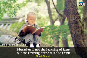 Albert Einstein Quotes Education Is Not The Learning Of Facts ~ School ...