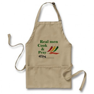 Real men cook and pray Christian Quotes Aprons #giftsfordad # ...