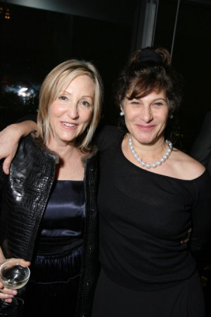 ... names laura ziskin amy pascal laura ziskin and amy pascal at event of