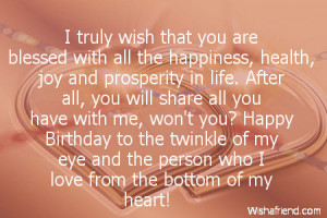 Boyfriend Happy Birthday Quotes Wallpaper