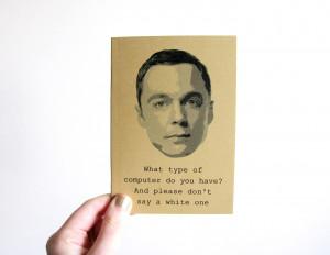 Bazinga Sheldon Cooper Smile
