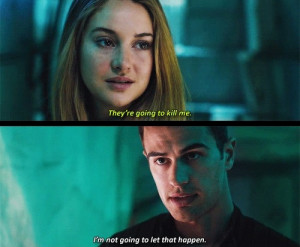Back > Gallery For > Divergent Tris And Four Kiss
