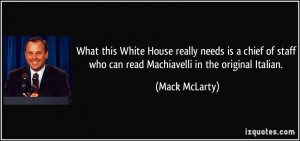 Mack McLarty Quote