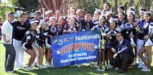 Summit Cheer Squad Wins National Championship