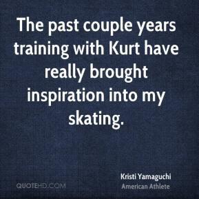 Kristi Yamaguchi - The past couple years training with Kurt have ...