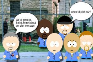 Prison Break Recap – South Park Edition