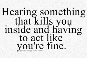fine, kills, love, quote, text