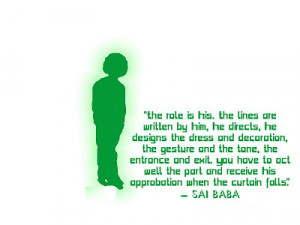 Saibaba Quotes Wallpapers-Sathya Saibaba Photos with Lovely Quotations