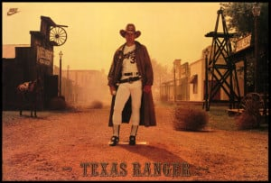 TEXAS RANGERS - THE STUFF OF LEGENDS