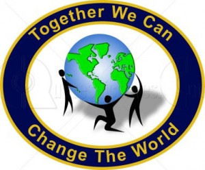 Achievement Quote – Together We can Can Change the World
