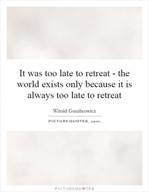 Witold Gombrowicz Quotes