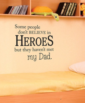 ... Hero Dad Wall Quote by Everyday Heroes: Home Décor on #zulily today