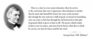 Quotes: Ralph Waldo Emerson (hero!)