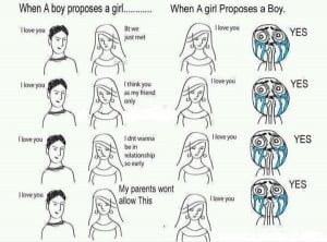 funny boys girls quotes, the propose system of boys and girls , 10.0 ...