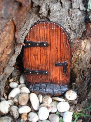 Fairy Door (KIT) with Step. The Leddiq door. - Fairy Garden Kit - Die ...