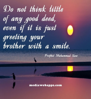 essay on doing good deeds The thought of doing a good deed might pop into your head from time to time, but  due to your busy life, it might get pushed to the back burner.