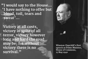 20 Key Quotes by Winston Churchill in World War Two