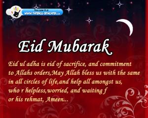 Eid ul fitr 2012 wallpapers, Eid mubarak quotes, wishes Eid ul fitr ...