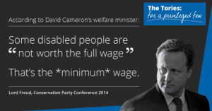 David Cameron's welfare supremo has advocated treating those most in ...