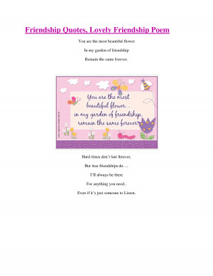 ... friendship poems childhood quotes friendship inspirational quotes