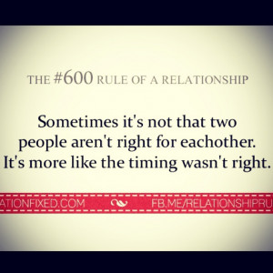 ... Love Quotes, Love Relationship Quotes, Wrong Time Love Quotes, Second