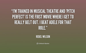 Go Back > Gallery For > Musical Theatre Quotes