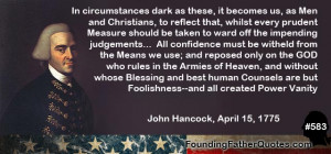 John Hancock Founding Father
