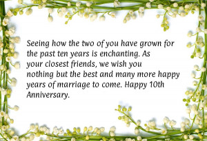 10 Year Marriage Quotes http://anniversaryquotes.net/quote/fa042f/10 ...