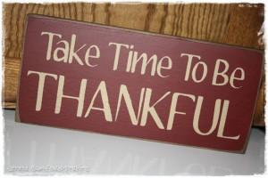 am thankful