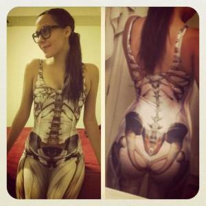Funny Skeleton Dress