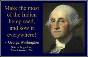 quote taken from America's 1 st President: