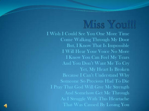 Miss you!!!