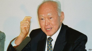 Lee Kuan Yew was the statesman who turned Singapore from a port city ...