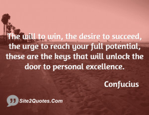 Motivational Quotes - Confucius