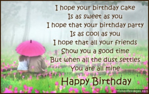 Cute Happy Birthday Quotes for Boyfriend