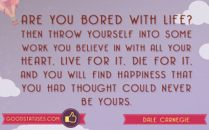 Are you bored with life? - Bored Statuses and Quotes